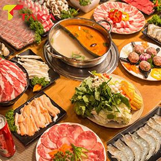 Taka BBQ - CN Bình Thạnh - Buffet Lẩu Bò Mỹ, Hải Sản Chuẩn Bị Hàn Quốc Tại Taka BBQ