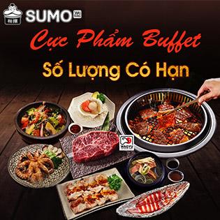 Hệ Thống Sumo Yakiniku – Buffet Premium Hơn 100 Món Nướng & Lẩu Trứ Danh Châu Á - Đã Gồm VAT