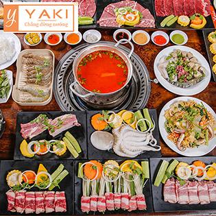 Buffet Yaki 6 - Menu Premium Gần 70 Món BBQ Bò Mỹ, Hải Sản Cao Cấp