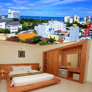 SeaSala Vũng Tàu Hotel 2* - Phòng Standard Double 2N1Đ Ngay Bãi Sau, Gần Quảng Trường