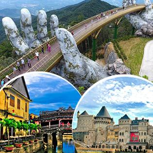 Tour Đà Nẵng Hội An - Bà Nà 3N2Đ +  Bao Gồm Vé Máy Bay Khứ Hồi, Tặng Vé Du Thuyền Sông Hàn - Cho 1 Người