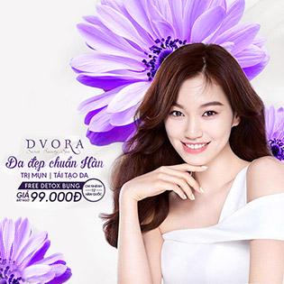 DVORA Chi Nhánh Skincare Nổi Tiếng Đến Từ Hàn Quốc Loại Bỏ Mụn Đầu Đen, Tái Tạo Da và Detox Bụng Bằng Tahii 3000