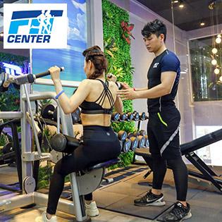 01 Tháng Tập Gym, Yoga, Kickboxing & Dance Không Giới Hạn + 02 Buổi PT - Fit Center 5*