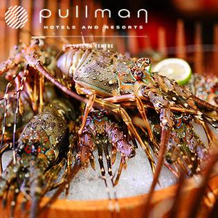 Pullman Saigon Centre 5* - Buffet Trưa Hải Sản Đẳng Cấp Quốc Tế, Free Soft Drink – Đã Gồm VAT
