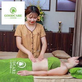 95 phút massage giảm eo sau sinh tại nhà giá sốc nhân dịp khai trương GoodCare Center
