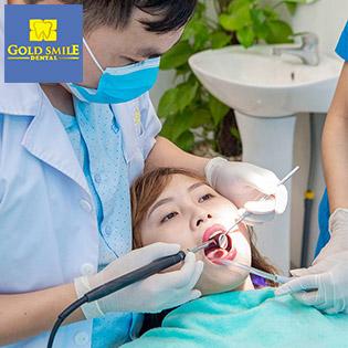 Combo Tẩy Trắng Răng + Đánh Bóng Răng + Lấy Cao Răng Và Tư Vấn Vệ Sinh Răng Miệng Tại Nha Khoa Quốc Tế GOLD SMILE.