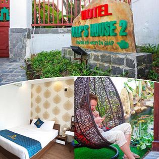 VIP'S House 2 Đà Nẵng - Phòng Đôi, Giường King - 2N1Đ Cho 02 Khách
