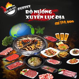 Buffet Nướng Trang Trại Bò Thế Giới Hơn 50 Món Xuyên Lục Địa - Trại Bò BBQ
