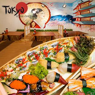 4 Combo Thuyền Sushi Dành Cho 2 Người Tại Nhà Hàng Tokyo Sushi