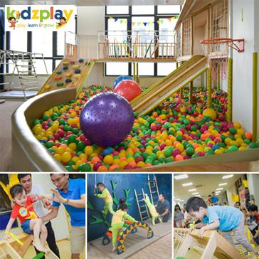 Khu Vui Chơi Mộc Kidzplay – Vé Vào Cửa Cho Trẻ Từ 1-6 Tuổi