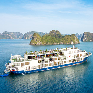 Du Thuyền 5* Hạ Long Mon Chéri Cruises - Khám Phá Vịnh Lan Hạ, Vịnh Hạ Long 2N1Đ Dành Cho 01 Khách