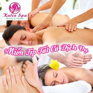Miễn Tip Trọn Gói 5 Dịch Vụ: Massage Body Đá Nóng + Foot + Xông Hơi Đá Muối Himalaya Không Giới Hạn + Ấn Huyệt Thư Giãn Giảm Stress - 3 CN Kalin Spa