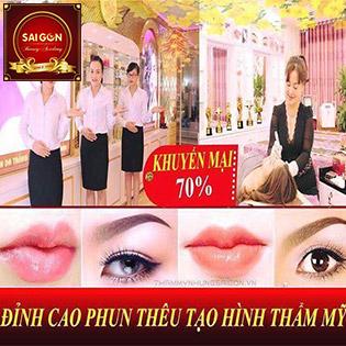 Phun Xăm Thẩm Mỹ: Mày/ Môi/ Mí Công Nghệ Hiện Đại - Thẩm Mỹ Saigon 400 Xã Đàn