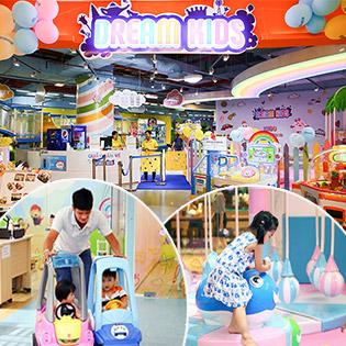 Dream Kids Vạn Hạnh Mall - Bé Chơi Cả Ngày, Ăn Uống No Say, Học Nhiều Điều Hay