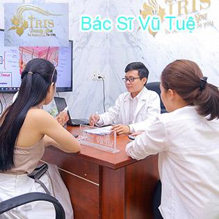 Điều Trị Mụn, Thâm/ Chạy Vitamin C/ Collagen Tươi Căng Bóng Da/ Thải Độc Tố Với Bác Sĩ Da Liễu - Cam Kết Hiệu Quả - IRIS Beauty Spa