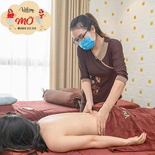Massage Toàn Thân Miễn Phí Gội Đầu Tại Mỡ Spa