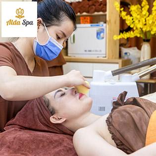 Alda Spa - Trẻ Hóa Da Light Skin + Massage Mặt Nâng Cơ