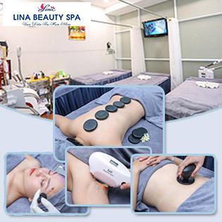 Buffet Spa - Thả Ga Làm Đẹp: Massage Body Đá Nóng/ Chăm Sóc Da Mụn/ Nám, Tàn Nhang/ Massage Tan Mỡ Bụng, Đùi, Tay/ Triệt Lông Nách Công Nghệ Cao Cấp IL Tại Lina Beauty Spa