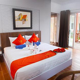 Lotus Garden Resort 3*- 2N1Đ Phòng Standard Gồm Buffet Sáng Cho 2 Người - Gần Chợ Hàm Tiến, Phan Thiết