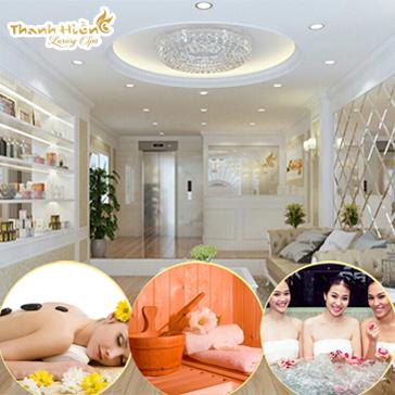 Xông Hơi, Tắm Sục, Massage Body Thông Kinh Lạc Tại Thanh Hiền Luxury Spa