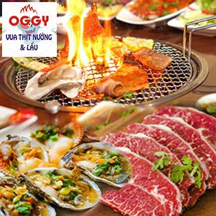 Set Menu Bò Mỹ, Hải Sản Cao Cấp Dành Cho 2- 3 Người Tại Nhà Hàng BBQ Oggy