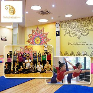 Vedic Wellness Trọn Gói Thẻ Tập Yoga Cao Cấp Không Giới Hạn Giờ Tập Ngày Tập (30 Ngày)