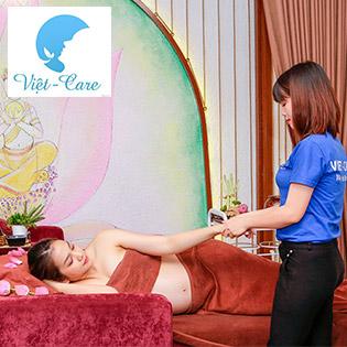 Miễn Tip - Massage Bầu VIP (120') - Combo 11 Dịch Vụ Massage Toàn Thân, Chăm Sóc Da Bụng, Mặt, Chân - VietCare Chăm Sóc Sau Sinh