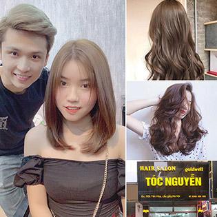 Trọn Gói Combo Tóp Đẹp Đảm Bảo + Phục Hồi Nano Bọc Collagen Tại Tóc Nguyễn Hair Salon
