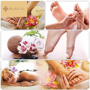 Massage Chân Đá Muối Hồng + Ngâm Chân + Tẩy Tế Bào Chết - Shambhala Spa - Top 10 Spa Nổi Tiếng Sài Gòn Về Massage Body, Foot