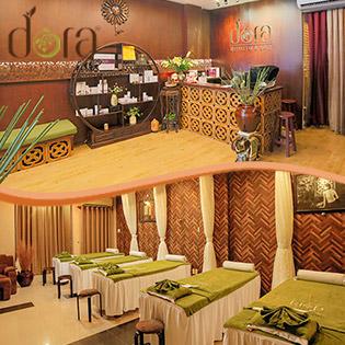 60' Buffet Massage Body/ Massage Mặt Nâng Cơ/ Ủ Trắng/ Cấy Tảo Nhật Độc Quyền Tại Dora Beauty & Spa