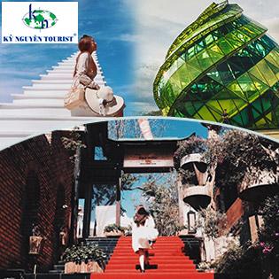 Tour Đà Lạt 3N3Đ - Khu Vườn Cổ Tích - Horizon Coffee - Hoa Sơn Điền Trang