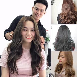 Yooshi AT Hair Salon Top 5 Salon Nổi Tiếng Quận Tân Bình: Uốn/ Duỗi/ Nhuộm/ Bấm Xù + Cắt, Gội, Sấy + Hấp Dưỡng Phục Hồi