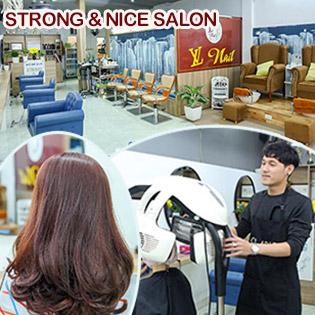 Salon Strong & Nice - Giảm Cực Hot 3 Combo Trọn Gói Làm Đẹp Tóc Uy Tín, Chất Lượng, Không Bù Tiền