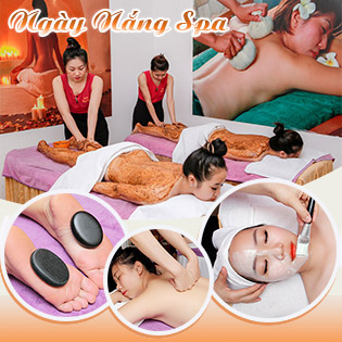 Miễn Tip - (105') Massage Body + Foot + Xông Hơi + Chăm Sóc Da Mặt + Đắp Mặt Nạ/ Tắm Dưỡng + Đắp Mặt Nạ - Ngày Nắng Spa