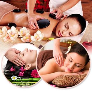 Massage Đông Y Xóa Đi Nhức Mỏi Cổ Vai Gáy/ Body Tại Moon Spa (Tặng Ngâm Chân + Đá Muối Chân, Nằm Gối Ngải Cứu Tươi)