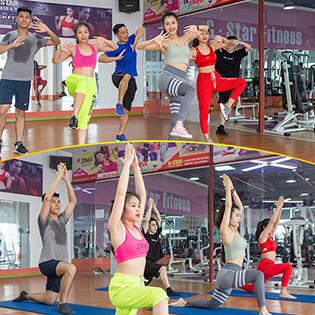 Thẻ Tập Yoga & Zumba 01 Tháng Tại Green Stars Fitness & Spa