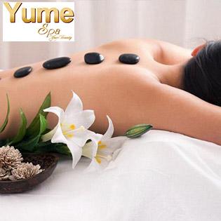 Miễn Tip - Buffet Spa: Chọn 01 Trong 06 Combo Massage Body Đá nóng/ Chăm Sóc Da Mặt/ Điều Trị Mụn/ Ủ Face Huyết Yến/ Detox Da/ Kết Hợp Massage Cổ Vai Gáy, Ấn Huyệt Tại Yume Spa