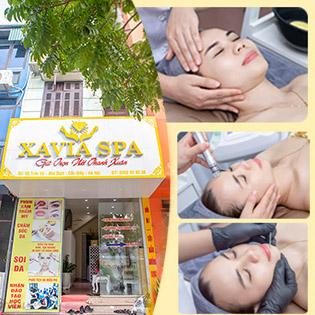 Xavia Spa - Trị Mụn Kết Hợp Massage Cổ Vai Gáy
