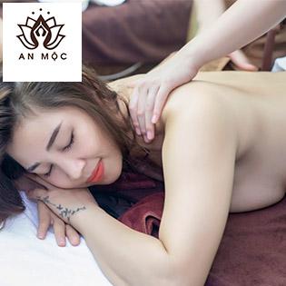 Combo Massage Đả Thông Kinh Lạc Cổ vai gáy, Thắt Lưng, Eo Tại An Mộc Spa Dưỡng Sinh