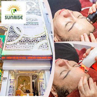 Chọn 1 Trong 2 Dịch Vụ Trẻ Hoá Da Hoặc Trị Mụn, Thải Độc Bằng Tế Bào Gốc PIP Kết Hợp Máy Điện Di Cool Relax Và Điện Di Ánh Sáng ISO G- Sunrise Cosmetics & Beauty