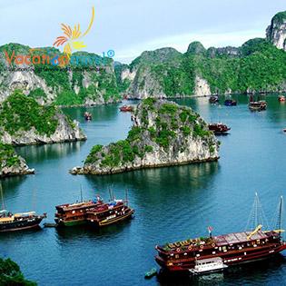 Tour Hà Nội (Rối Nước Bông Sen) - Bái Đính - Tràng An – Hạ Long – Yên Tử 3N2Đ – Khởi Hành Thứ 5 Hàng Tuần