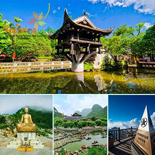 Tour Hà Nội (Rối Nước Bông Sen) - Tràng An – Hạ Long – Yên Tử - Sapa 6N5Đ – Khởi Hành Thứ 5 Hàng Tuần