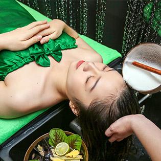 Gội Đầu Thảo Dược, Massage Chân, Lưng, Đầu Vai Cổ Tại Somi Spa