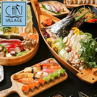 Chài Village - Buffet Sushi, Lẩu & Các Món Nhật Gần 60 Món Trên Phố Đi Bộ Đẹp Nhất Việt Nam