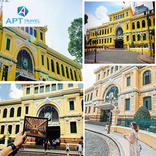 Tour City Sài Gòn - Củ Chi 1 Ngày - Dinh Độc Lập - Nhà Thờ Đức Bà - Bưu Điện Thành Phố - Bảo Tàng Chứng Tích Chiến Tranh - Địa Đạo Củ Chi - Khởi Hành Hàng Ngày