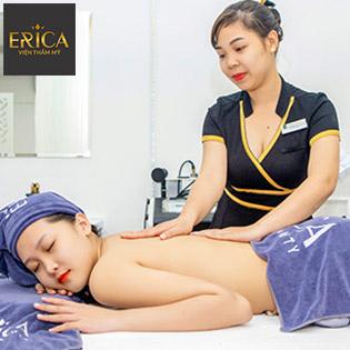 Chăm Sóc Da Mặt Căng Bóng Baby Face Korea Kết Hợp Massage Body Tại Viện Thẩm Mỹ Erica