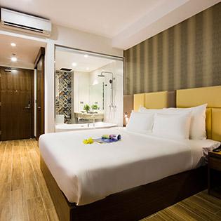 Sen Việt Premium Hotel 4* Nha Trang - Family Package 3N2Đ Phòng Deluxe Double – Ăn Sáng Dành Cho 2 Người Lớn + 2 Trẻ Em