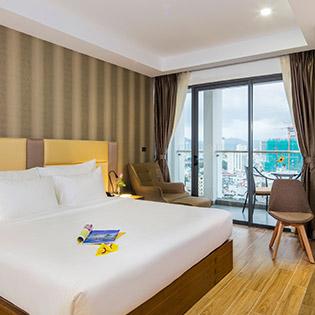 Sen Việt Premium Hotel 4* Nha Trang - Vitamin Sea 3N2Đ Phòng Deluxe Double – Ăn Sáng Dành Cho 2 Người Lớn