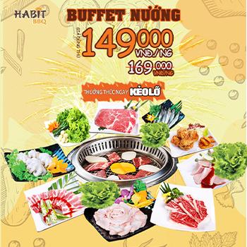 Buffet Thịt Nướng Thả Ga Tại Nhà Hàng Habit BBQ