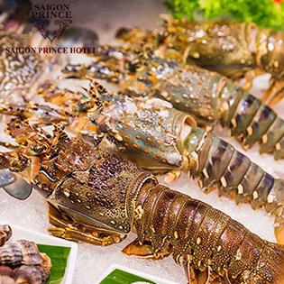 Buffet Hải Sản Tôm Hùm Sang Trọng Tối Thứ 5, 6 & 7 View Phố Đi Bộ Nguyễn Huệ Tại Sài Gòn Prince Hotel 4*
